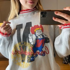 vintage Nebraska graphic sweatshirt